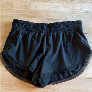lululemon running shorts with mesh